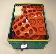 Approx. 123 Assorted Silica Moulds