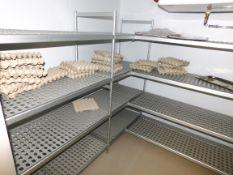 5 Sections Lightweight Aluminium Shelving