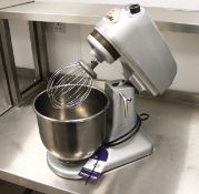 Metcalfe SM7 Mixer 2018 with Whisk and Bowl