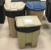 3 x Waste Bins