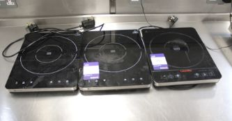 3 x Hendi/Caterlite Induction Hobs