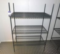 2 x Adjustable Wire Racks Approx. 1200 x 600mm