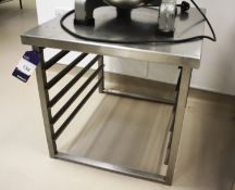 Stainless Steel Oven Stand with 5 Grid Rack 650 x