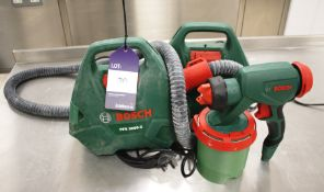 2 Bosch PFS3000-2 Pumps with Spray Gun
