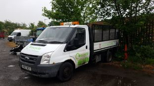 Ford Transit LWB fixed body Pick-up with tail lift