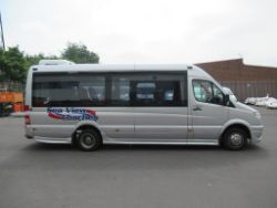 Online Auction of Executive Minibuses