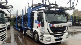 2016 11 Car Transporter Rig comprising: Iveco Stra