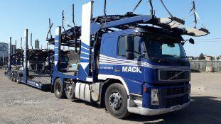 2009 11 Car Transporter Rig comprising: Volvo FM 4