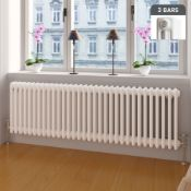 (ED19) 500x1042mm White Triple Panel Horizontal Colosseum Traditional Radiator.RRP £509.99.For an