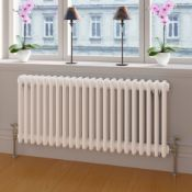 (ED11)  500x812mm White Triple Panel Horizontal Colosseum Traditional Radiator. RRP £462.99. Our