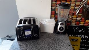Dualit DPP4 4 Slice Toaster, Tefal 600w Blendforce