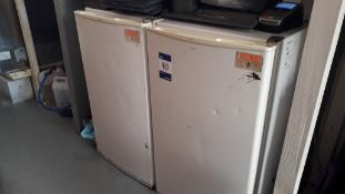 2 x Undercounter Fridge Freezer – Located York Bui