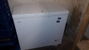 Logik L200CFW17 White 200Ltr Chest Freezer (Located in Basement) – Located York Buildings, 3