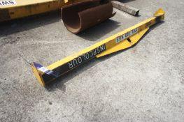 500kg lifting beam, Length 2000mm