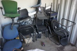 Quantity of Various Chairs