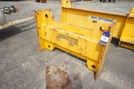 X418 lifting beam - WT unspecified, Length 1000mm