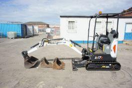 Bobcat E17Z Excavator/Digger (ref SG24), serial nu