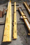 X610 50 kg lifting beam, Length 3100mm
