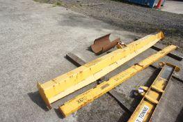 5 tonne lifting beam, Length 3500mm