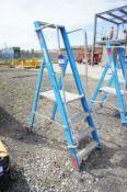 4 Tread Aluminium Podium Ladder