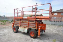 Sky Jack SJ71.35 mobile diesel cherry picker, seri