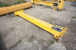X418 50 tonne lifting beam, Length 3000mm