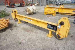 X455 50 tonne lifting beam, Length 3400mm