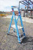 3 Tread Aluminium Podium Ladder