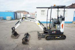 Bobcat E17Z Excavator Digger (ref SG23), serial nu
