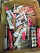Circa. 200 items of various new make up acadamy make up to include: mega volume mascara, hydro