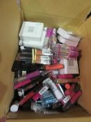 Circa. 200 items of various new make up acadamy make up to include: matte soft focus eyeshadow