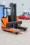Side Tracker S325C 2 way fork lift truck, with electric charger, 21123 hours, 4000KG, 2000KG full