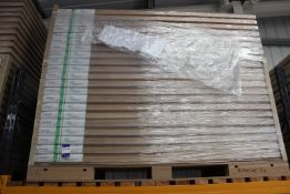 7 x Riverside 32, 2032mm x 813mm x 44mm - Lots to be handed out in order they are stacked, at the