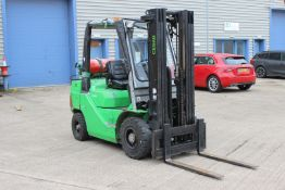 Cesab LPG forklift truck, W32SG, Capacity 2.5KG, Serial Number CE386718, Year 2014, Hours 3703 *