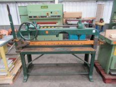 Interwood Manual 1200mm Veneer Guillotine