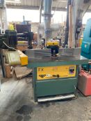 Wilson FX Spindle Moulder complete with Zangheri and Boschetti power feed unit