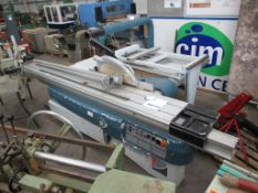 Paoloni P3200N Panel Saw YOM 2002 Serial 10664 3 phase. Please note that a Risk Assessment and Metho