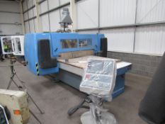 Rye QM 10x5 CNC Router with control console on vacuum pump 3 phase. Please note that a Risk Assessme