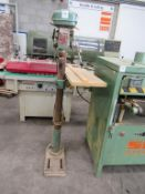 Nutool 12 speed Pillar Drill Model DPE16-12 YOM 1988 Serial 084587 240V