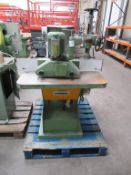 Ninfa Profile Sander with power feed as lotted 3 phase