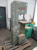 Startrite 14-5-5 Vertical Band Saw Serial 181 3 phase