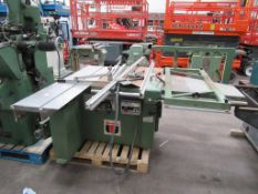 Wadkin CP15 Panel Saw Serial No89106 3 phase