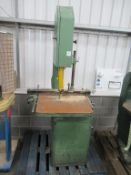 Wadkin Bursgreen 20BZE803700 Vertical Bandsaw 3 phase