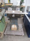Holroyd Twin Headed Tool Grinder with clamping gear 3 phase