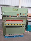 Sicar 7056 Metai 940mm wide Belt Sander YOM 06 with 3 spare belts 3 phase
