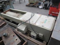 DCE UMA74-91 Serial 140-462 single bag fine dust cabinet 3 phase
