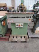 Weinig Rondamat 929 Profile Grinder YOM 1988 3 phase