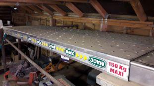 2 x Macc Aluminium Extending Crawling Boards