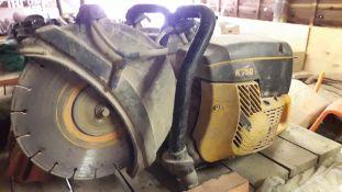 Partner K750 Petrol Disc Cutter (Pull Cord Missing)