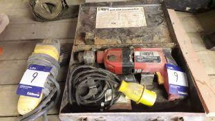 Europa 600VSR 110v Hammer Drill and Dewalt D28128
